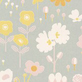 Majvillan Bloom Grey Wallpaper - Product code: 121-01