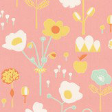 Majvillan Bloom Pink Wallpaper - Product code: 121-02