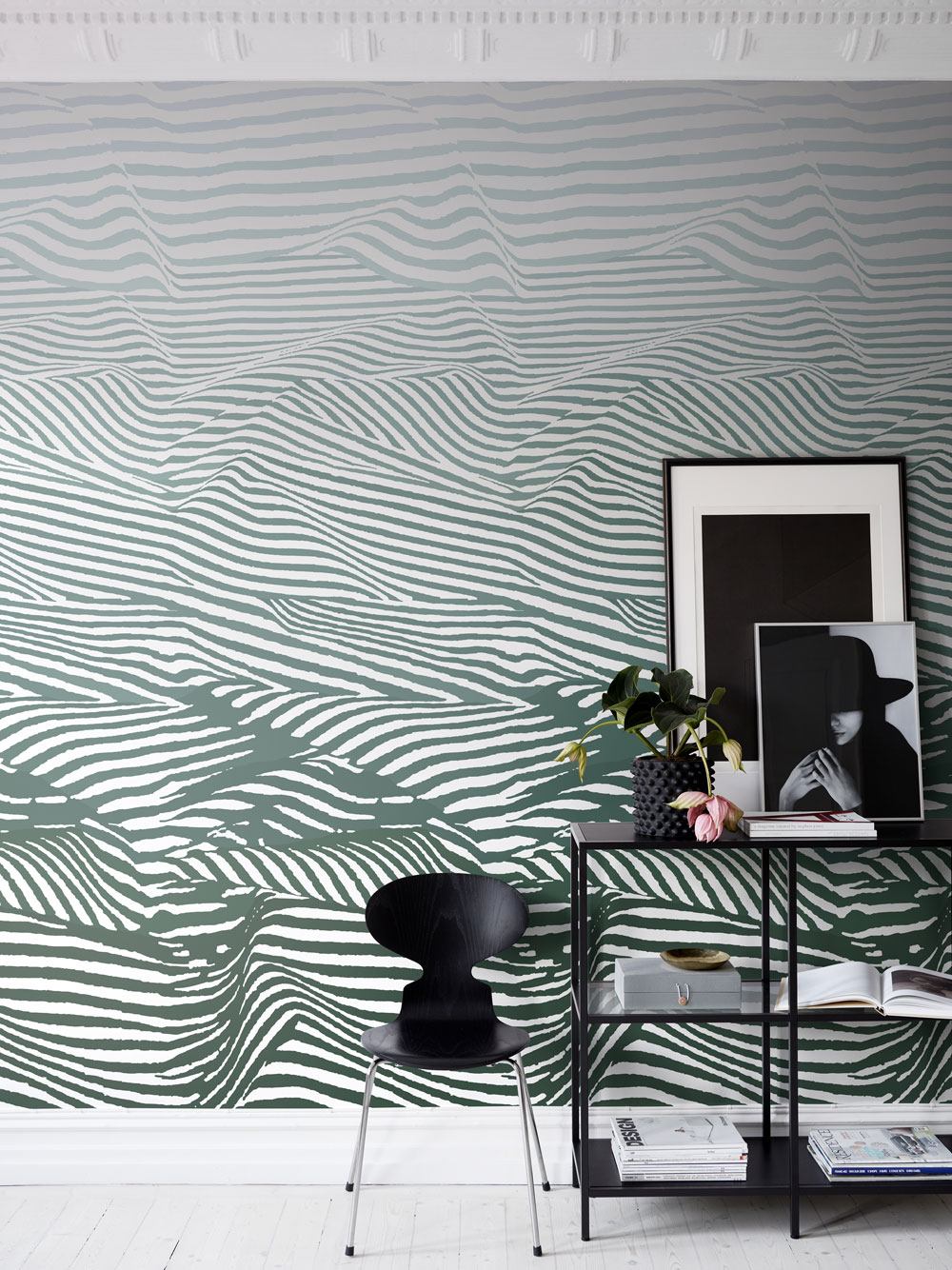 Djurgården Mural - Green - by Sandberg
