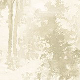 Galerie Watercolour Forest Cream Wallpaper