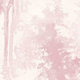 Galerie Watercolour Forest Pink Wallpaper