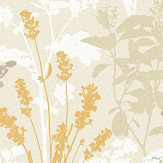 Albany Wild Flowers Mustard Wallpaper
