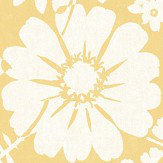 Albany Bold Floral Mustard Wallpaper