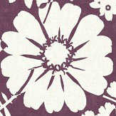 Albany Bold Floral Berry Wallpaper
