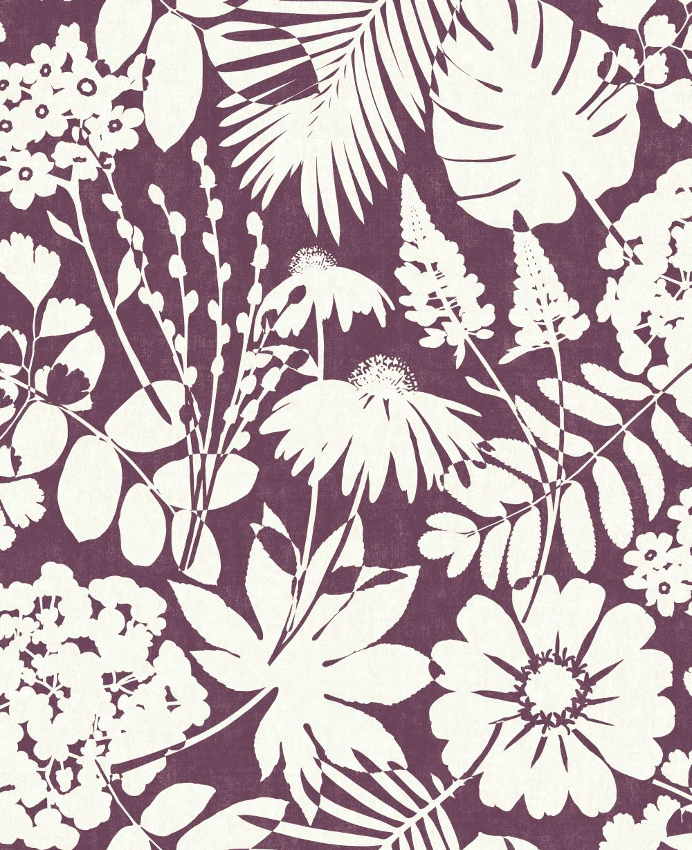 Albany Bold Floral Berry Wallpaper main image
