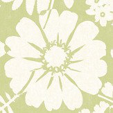 Albany Bold Floral Green Wallpaper