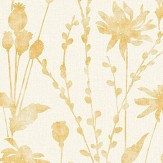 Albany Meadow Mustard Wallpaper