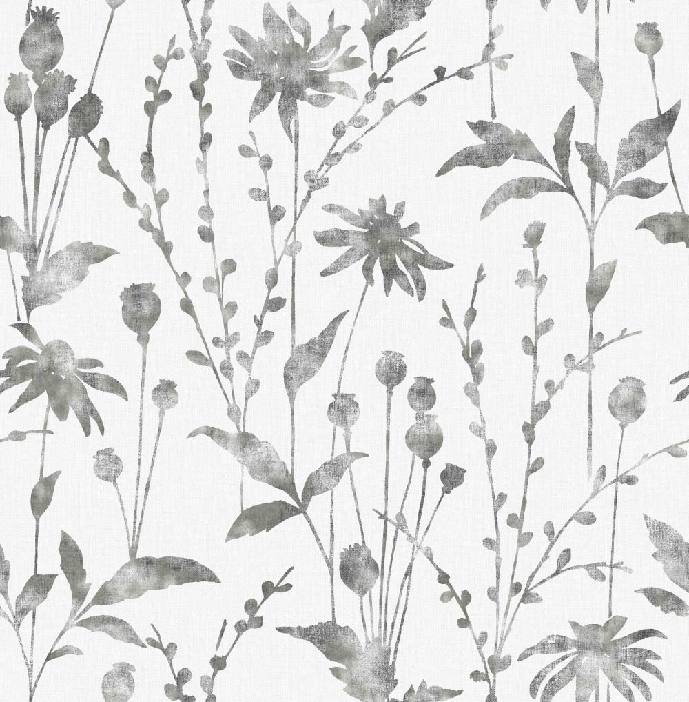 Albany Meadow Black Wallpaper - Product code: CB42112