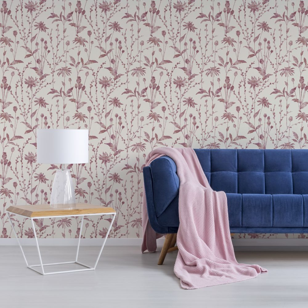 Albany Meadow Berry Wallpaper - Product code: CB42114