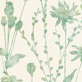 Albany Meadow Green Wallpaper