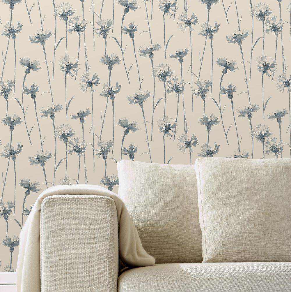Albany Cornflower Blue Wallpaper - Product code: CB42118