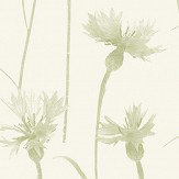 Albany Cornflower Green Wallpaper