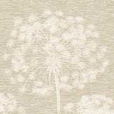 Albany Dandelion Taupe Wallpaper
