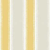 Albany Stripe Mustard Wallpaper