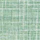 Albany Crosshatch Texture  Green Wallpaper
