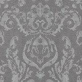 Zoffany Brocatello Grey Wallpaper - Product code: 312678