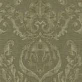 Zoffany Brocatello Olivine Wallpaper