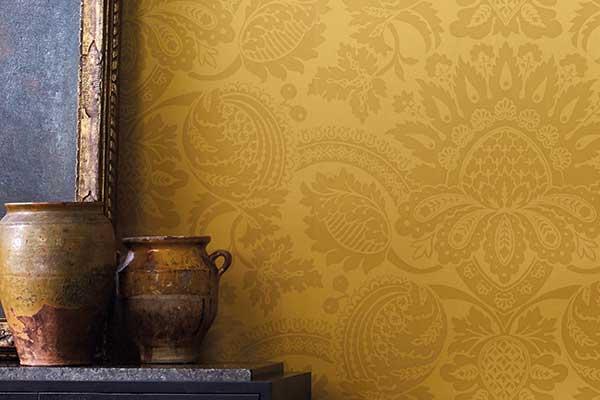Zoffany Pomegranate Tiger's Eye Wallpaper