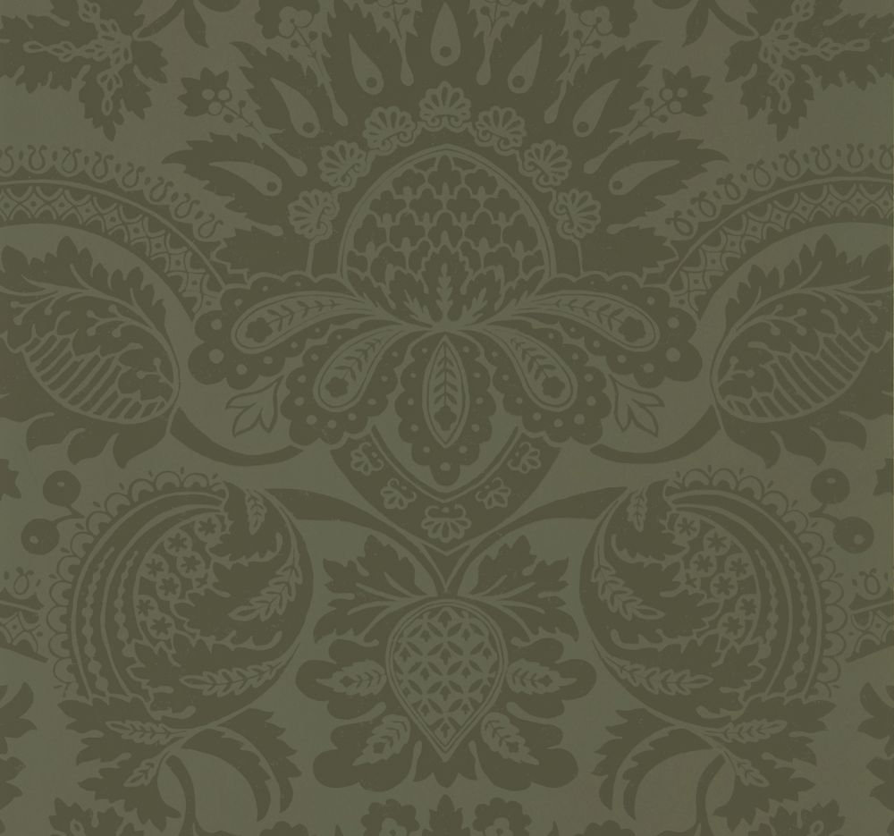 Zoffany Pomegranate Olivine Wallpaper main image