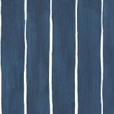 Cole & Son Marquee Stripe Ink Wallpaper