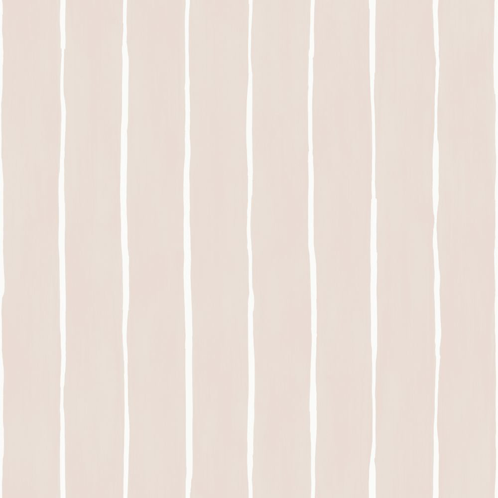 Cole & Son Marquee Stripe Soft Pink Wallpaper - Product code: 110/2012