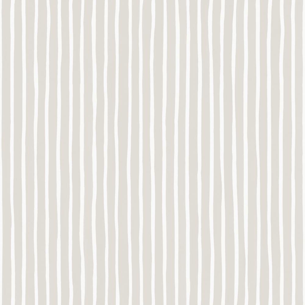 Cole & Son Croquet Stripe Parchment Wallpaper main image