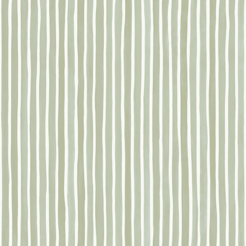Cole & Son Croquet Stripe Olive Wallpaper - Product code: 110/5030