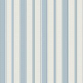 Cole & Son Cambridge Stripe Pale Blue Wallpaper