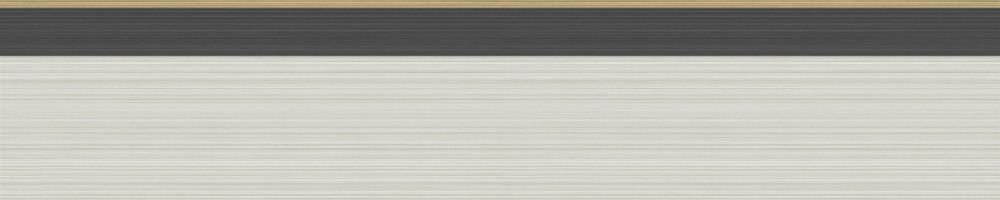 Jaspe Border - Linen, Black & Gold - by Cole & Son