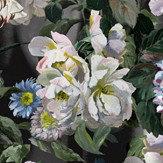 Designers Guild Delft Flower Grande Graphite Mural - Product code: PDG1038/01