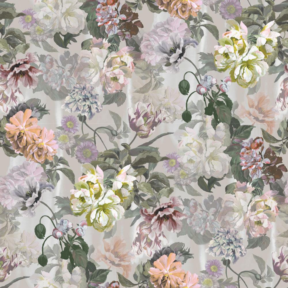 Delft Flower Grande Mural - Tuberose  - by Designers Guild