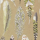 Designers Guild Quill Metallic Gold Wallpaper