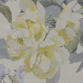 Designers Guild Delft Flower Metallic Pewter Wallpaper