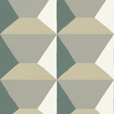 Sandberg Ilse Green / Grey Mural - Product code: 638-01