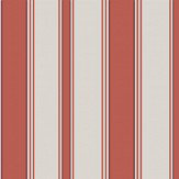 Cole & Son Cambridge Stripe Red Wallpaper
