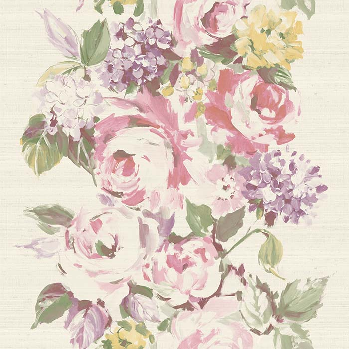 The Paper Partnership Ceresio Butter / Lavender Wallpaper - Product code: WP0100403