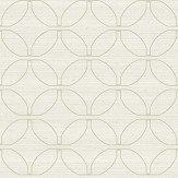 The Paper Partnership Caprino Ivory / Green Wallpaper