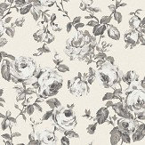 The Paper Partnership Melide Oatmeal / Charcoal Wallpaper