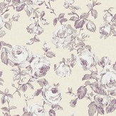 The Paper Partnership Melide Butter / Lavender Wallpaper