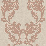 The Paper Partnership Melano Sable / Copper Wallpaper