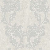 The Paper Partnership Melano Mink / Silver Wallpaper