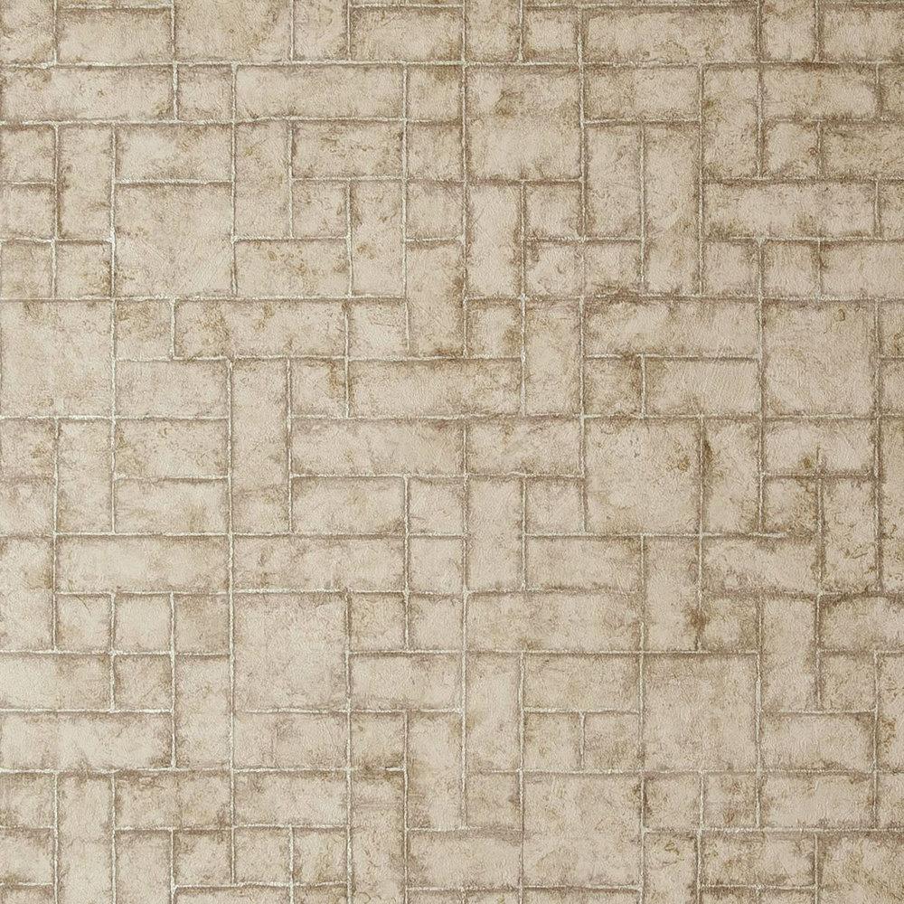 Sandstone Wallpaper - Taupe - by Clarke & Clarke