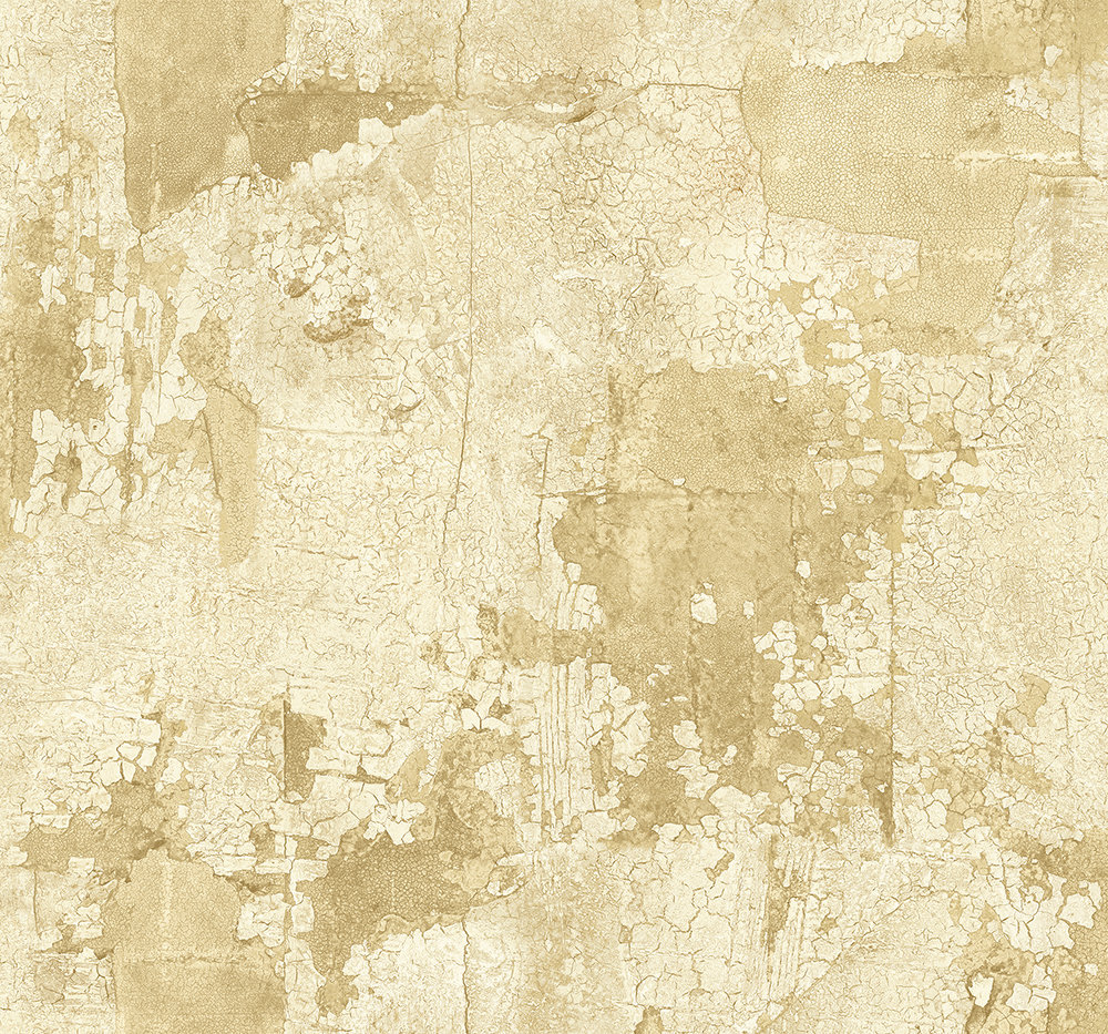 The Paper Partnership Lecco Gold Wallpaper main image