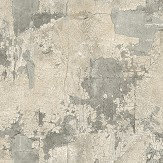 The Paper Partnership Lecco Silver Wallpaper