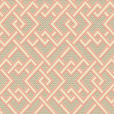 Linwood Pagoda Sherbet Wallpaper - Product code: LW070/001