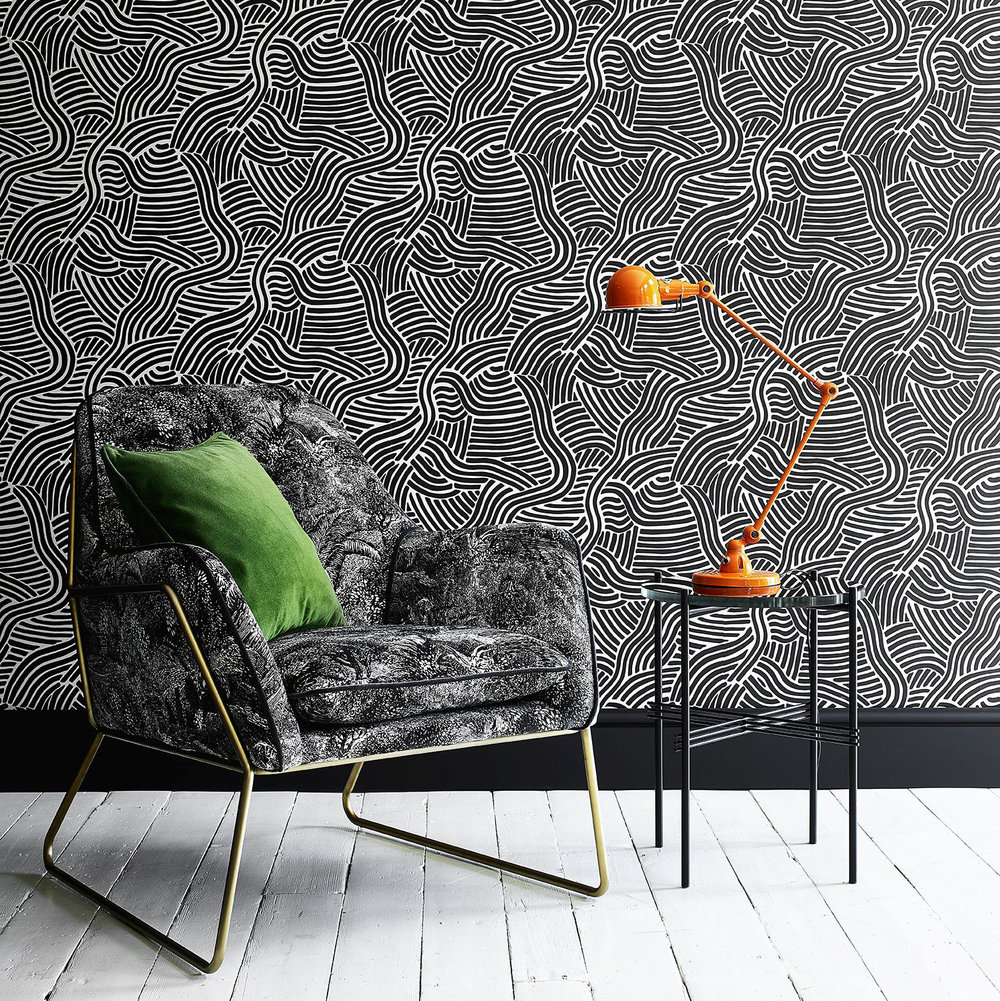Linwood L A Sunset Onyx Wallpaper - Product code: LW071/004