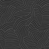 Linwood L A Sunset Jet Black Wallpaper - Product code: LW071/005