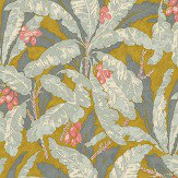 Linwood Tropicana Ochre Wallpaper