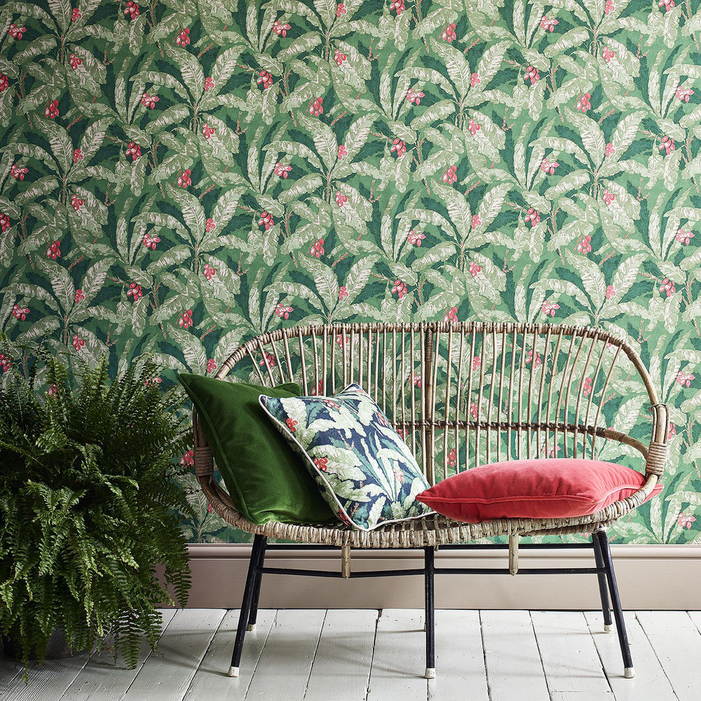 Linwood Tropicana Garden Wallpaper - Product code: LW073/004