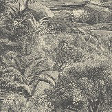 Linwood Island Paradise Charcoal Wallpaper - Product code: LW074/003